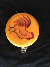 Susan Winget Air Tight Canister Rooster Clasp Lid Farmhouse Sugar Jar