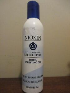 (1) NIOXIN VOLUMIZING REFLECTIVES LIQUID SCULPTING GEL 6.8 oz