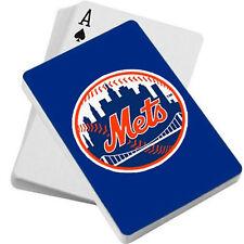 New York Mets Regular Logo Style Deck of Playing Cards MLB Baseball