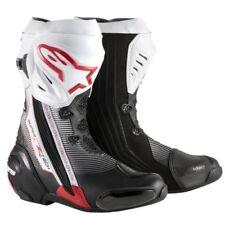 Stivali da guida fuoristrada bianchi marca Alpinestars