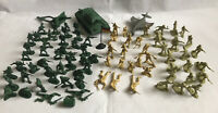85 Pieces Military Model Plastic Soldiers Army Tank Aeroplane Gun