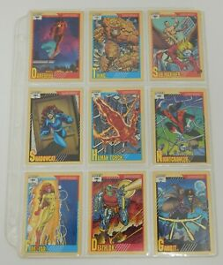 1991 Marvel Impel Trading Card Lot - 67 Cards!!