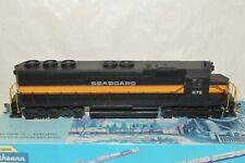 HO scale Athearn Seaboard Air Line RR EMD SD45 locomotive train