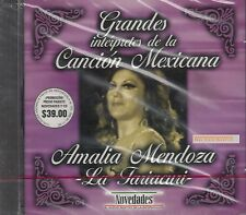 Amalia Mendoza La Tariacuri Grandes Intrepetes de la Cancion Mexica CD New Nuevo