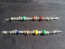 Tedora (Pandora) Italian Sterling Silver Charm Bracelets x 2, + 32 Charms!