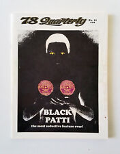 78 Quarterly Magazine Issue No 11 Black Patti