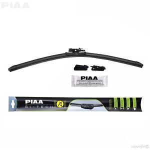 PIAA 97045 Si-Tech Silicone Flat Windshield Wiper Blade 18 in. 450 mm Single