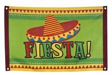 Mexikanische Dekoration Flagge Wanddeko Mexico Zubehör für Mexikoparty Fasching