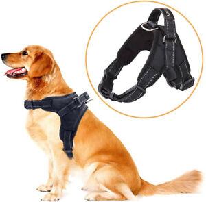 No Pull Walking Vest Padded Large Dog Harness for Pitbull German Shepherd Lab