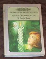NANCY DREW TWIN THRILLER  DOUBLE MYSTERY  #9 TWISTED CANDLE,#10 LARKSPUR LANE