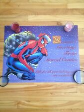 spiderman christmas  greeting poster 1991