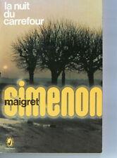 Georges Simenon  Maigret La nuit du carrefour  poche 2908