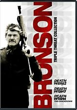 NEW DVD // CHARLES BRONSON - DEATH WISH 2 + 3 + 4 // TRIPLE FEATURE