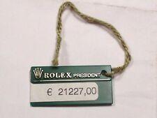 Reloj Rolex President Día Fecha 18238 Etiqueta
