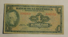 COLOMBIA NOTE $1  1941  PICK. B 387   6 DIGITS  F+