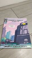 Powers & Perils Number 1 Orwell Industries - Savage Worlds RPG role playing game
