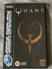 Quake for the Sega Saturn PAL, boxed with instructions