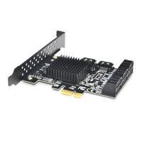 88SE9215 Chip 8 Ports SATA 3.0 zu PCIe Erweiterungs Karte PCI Express SATA E9W9