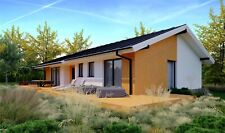 1000 Sqft Ecofriendly Mass Wood House Kit Solid Timber Home Prefabclt 107 2