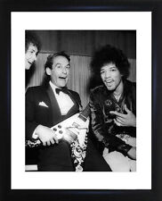 Jimi Hendrix And Jeremy Thorpe Framed Photo CP0196
