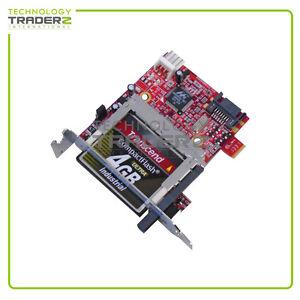 ADSACF-7MS IBM SATA Flash Adapter w/ Short Bracket w/ 4GB Card * Pulled *