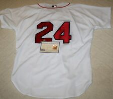 Manny Ramirez Signed Russell Athletic Boston Red Sox Jersey Auto Steiner