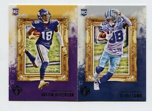 2020 PANINI CHRONICLES GRIDIRON KINGS ROOKIE RC SP SINGLES - YOU PICK FOR SET