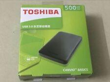 Toshiba 500GB USB3.0 Portable External Hard Disk Drive Toshiba Canvio Basics Bla