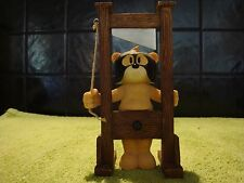 Bad Taste Bears JOHNSON Figurine The Dungeons Bear GUILLOTINE Torture Castration