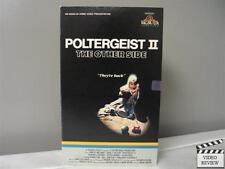 Poltergeist II - The Other Side VHS (Large Case) Craig T. Nelson