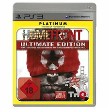 PS3 - HOMEFRONT - Ultimate Edition - Platinum Edition - PLAYSTATION 3 - USK 18