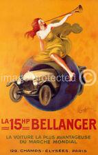 15HP Bellanger Cappiello Vintage Ad Poster Print -24x36