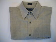 Andrew Fezza New York Men's Long Sleeve Casual Dress Shirt - Size Medium