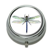 Dragonfly Pill Case Trinket Gift Box