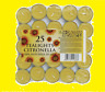 BULK CITRUS LEMON TEALIGHTS TEA LIGHTS CANDLES SCENTED FLAVOURED AROMA THERAPY