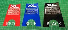85' 1985 XL 600r honda xl600 Red / Black / Blue rear tank graphic decal sticker
