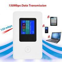 Modem Portatile Wireless WIFI 4G LTE 3G 2.4GHz 150Mbps Mobile Hotspot Scheda SIM