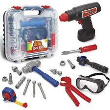 Kids Tool Set with Electronic Cordless Drill -19 Piece Kit