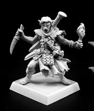 Skreed Gorewillow Reaper Miniatures Pathfinder Rogue Assassin Melee Half Orc RPG