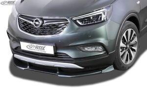 Fits Vauxhall OPEL Mokka X - Front Lip Spoiler Splitter