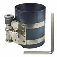 "75mm / 3"" Engine Piston Ring Compressor Ratchet Type Clamp 53mm - 125mm"