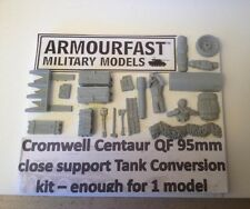 Early War 20mm (1/72) Armourfast British Centaur QF 95mm CS Convesion Set