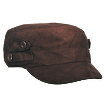 SCALA RHINESTONE PEACE SIGN COTTON CAP LC568