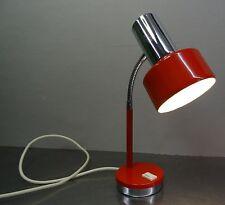 Pop Art Design 70s-Designer lámpara lámpara de mesa biegelampe lámpara roja ~ 70er