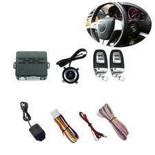 Anti-Theft Car Alarm Security System Universal Keyless Entry 2 Remote Controls