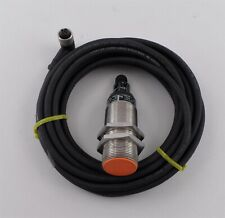 Ifm Efector Kn5102 Capacitive Level Sensor Knm30bsafnkgus With M12 Cable