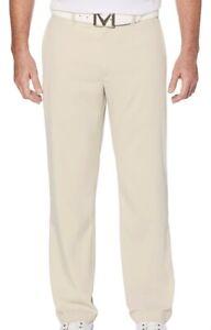 Callaway Golf Men's Opti-Dri Tech Performance Pants Beige 34 X 34