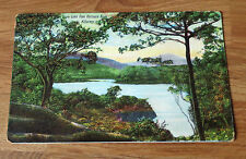 Antique Postcard of  Upper Lake from Kenmare Road, Killarney