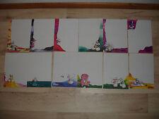Lot feuilles DIDDL format A5 numéros 7 à 18 inclus