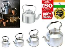Pure Aluminium Water Pot Tea Kettle Milk 1L Silver Cold Hot Induction Flask Serv
